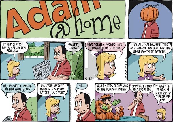 Adam@Home on Sunday October 21, 2018 Comic Strip