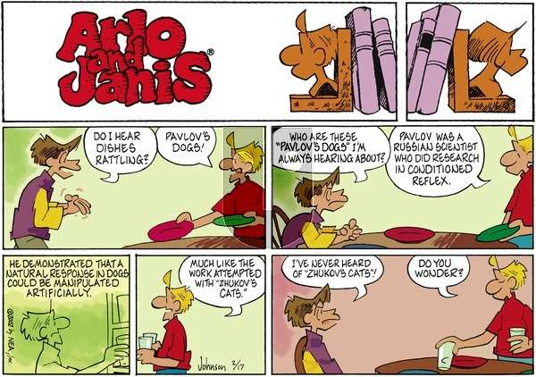 Arlo and Janis on Sunday February 17, 2002 Comic Strip