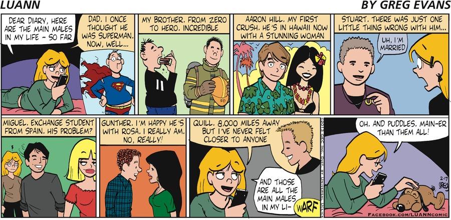 Luann for February 17, 2013 Comic Strip