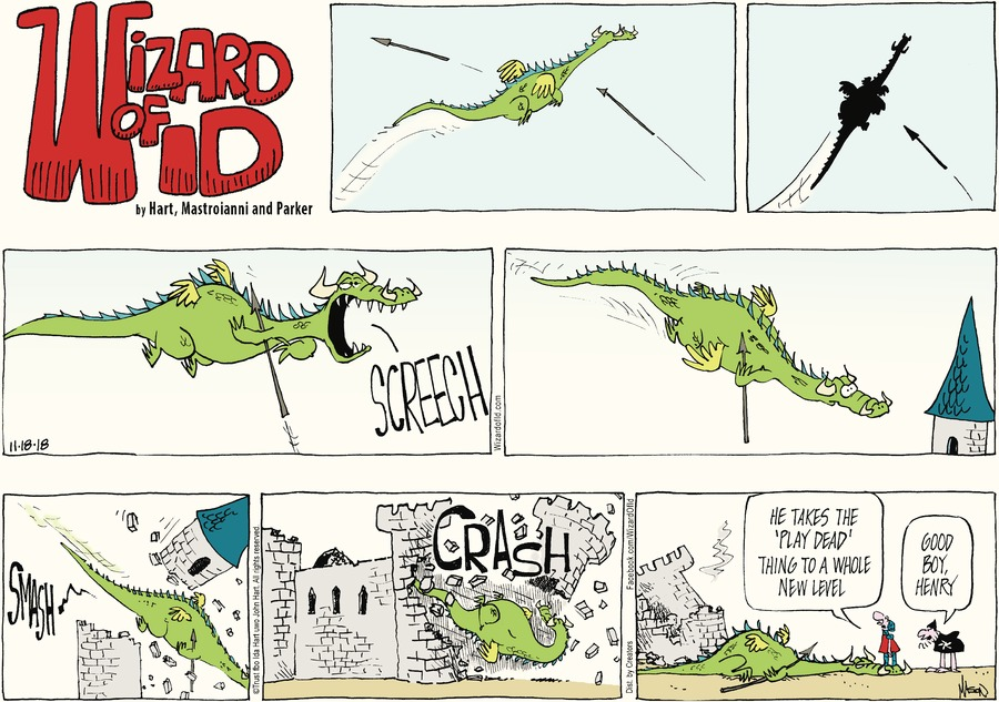 Wizard of Id Comic Strip for November 18, 2018