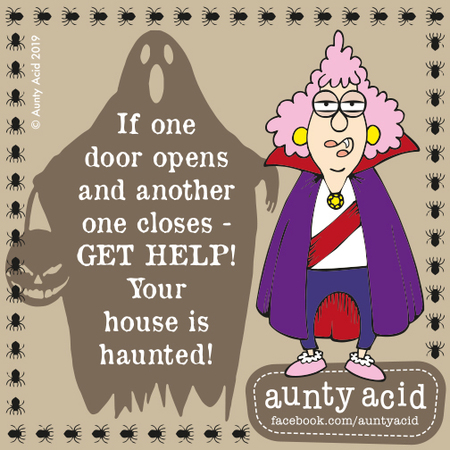 Aunty Acid by Ged Backland for May 02, 2019