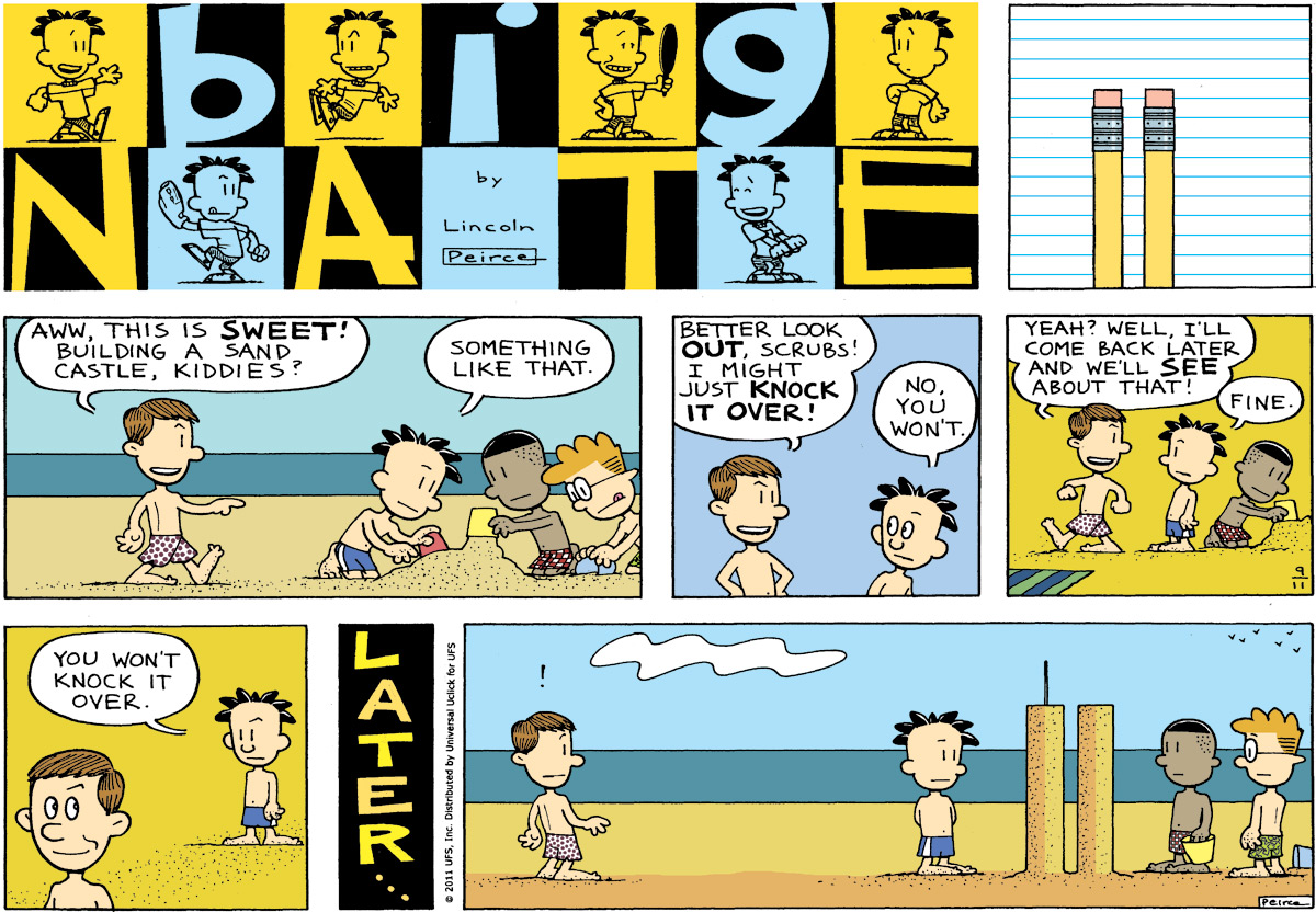 Big Nate Comic Strip for September 11, 2011