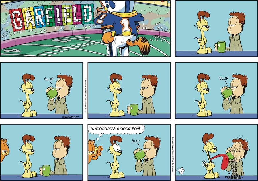 Garfield Comic Strip for September 27, 2020