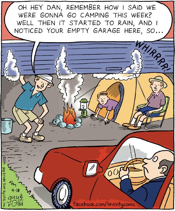 Brevity Comic Strip for April 18, 2011