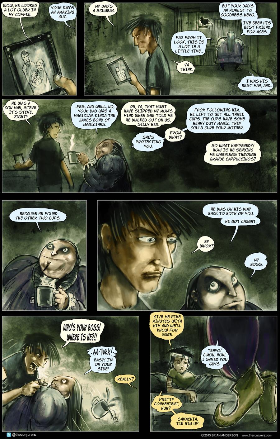 The Conjurers for Jun 30, 2014 Comic Strip