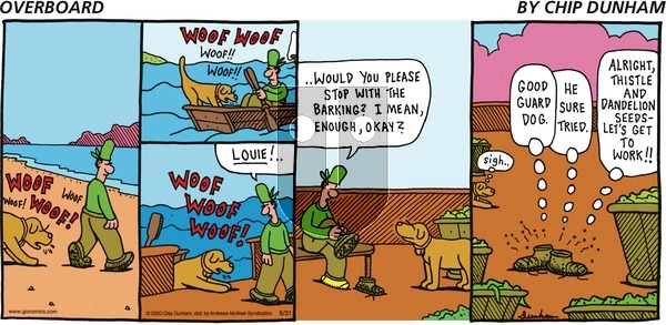 Overboard - Sunday May 31, 2020 Comic Strip
