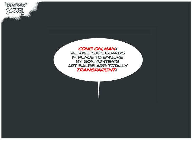 Bob Gorrell Comic Strip for July 28, 2021