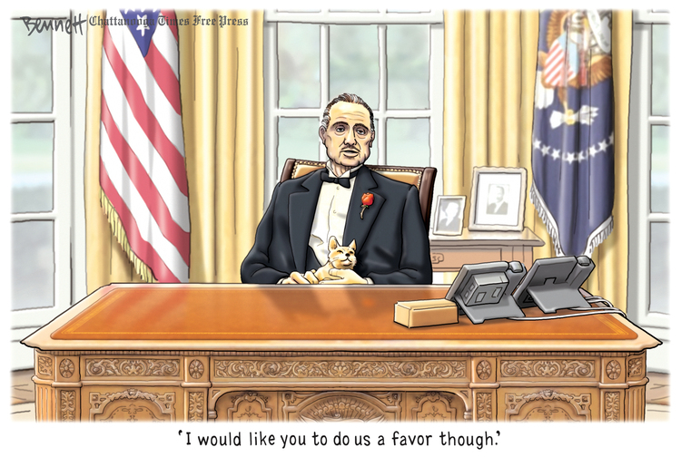 Clay Bennett by Clay Bennett on Tue, 12 Nov 2019