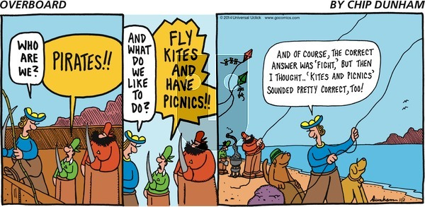 Overboard on Sunday November 2, 2014 Comic Strip