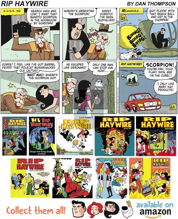 Rip Haywire on November 25, 2018 Comic Strip