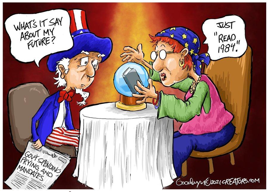 Al Goodwyn Editorial Cartoons Comic Strip for September 23, 2021