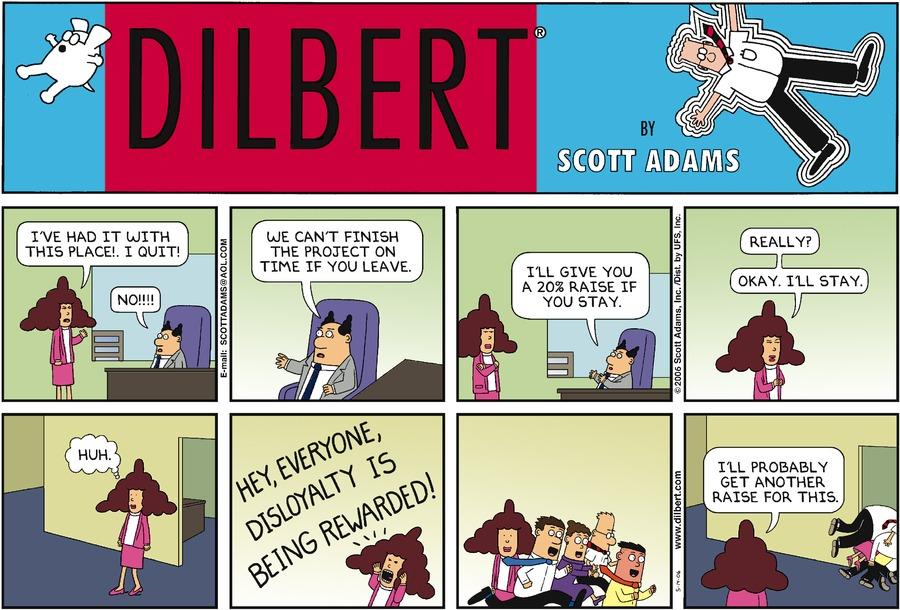 Дилберт 14 мая 2006 г.