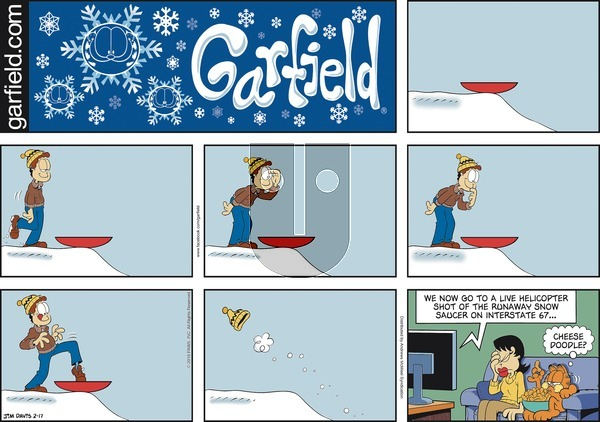 Garfield on Sunday February 17, 2019 Comic Strip