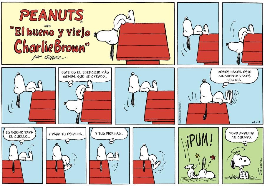 Snoopy en Español by Charles Schulz on Sun, 03 Oct 2021