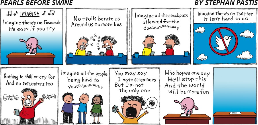 Pearls Before Swine Comic Strip for April 11, 2021