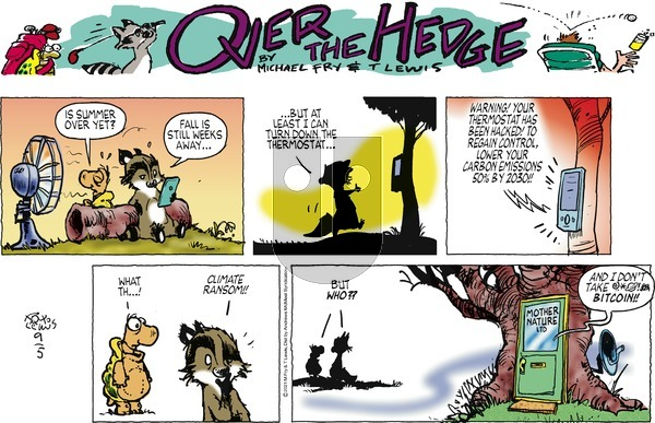 Over the Hedge on Sunday September 5, 2021 Comic Strip