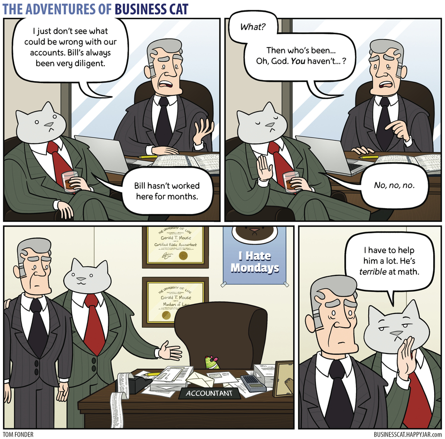 The Adventures of Business Cat Comic Strip for July 31, 2017