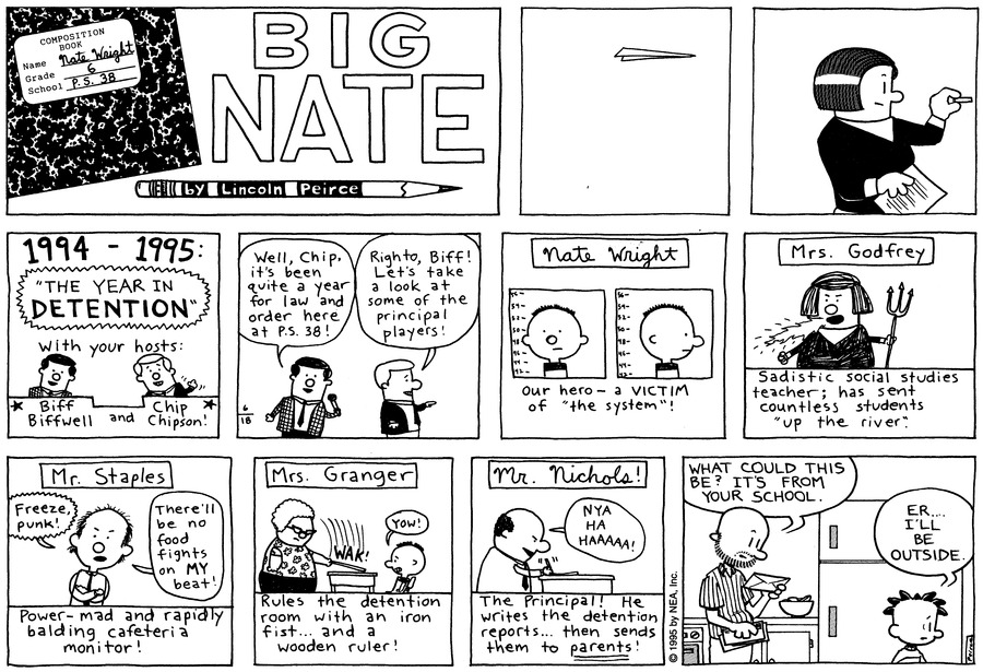 Big Nate: First Class by Lincoln Peirce on Sun, 28 Jun 2020