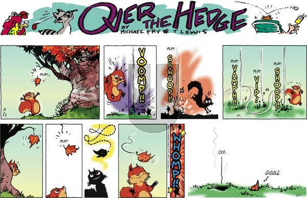 Over the Hedge on Sunday October 27, 2019 Comic Strip