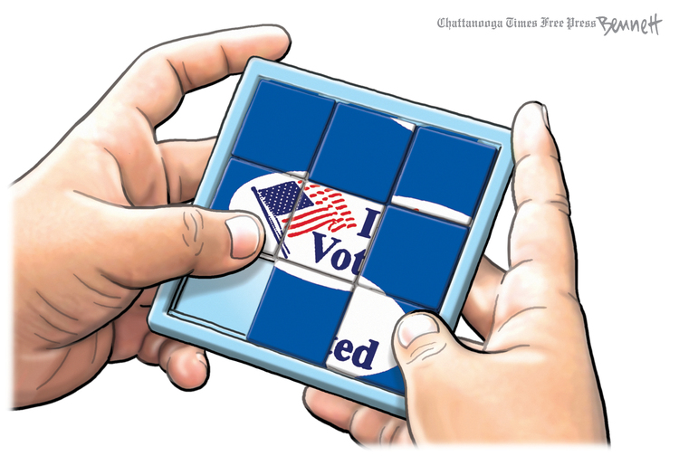 Clay Bennett by Clay Bennett on Sun, 20 Sep 2020