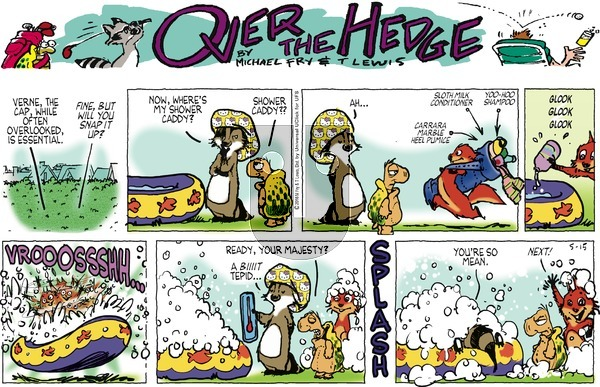 Over the Hedge on Sunday May 15, 2016 Comic Strip