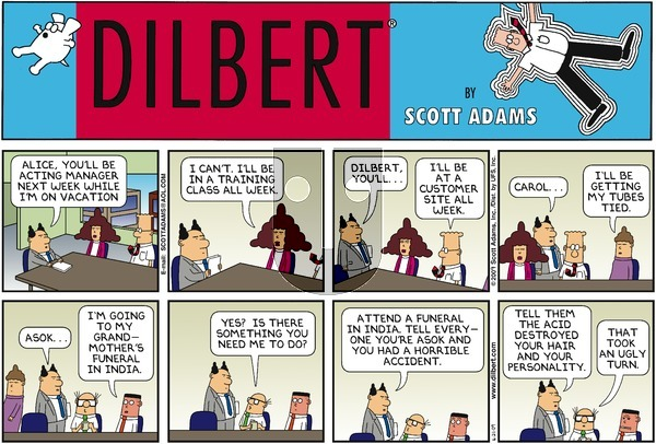 Dilbert - Sunday June 21, 2009 Comic Strip