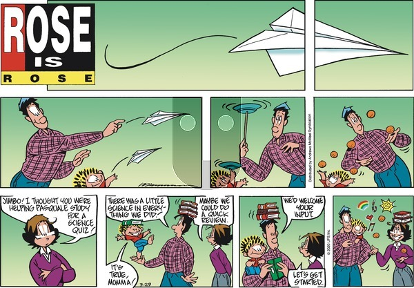Rose is Rose on Sunday March 29, 2020 Comic Strip