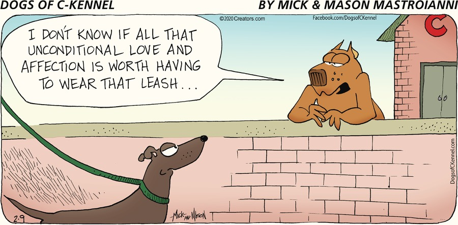 Dogs of C-Kennel Comic Strip for February 09, 2020