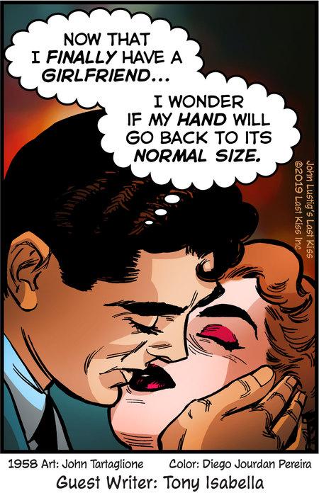 Last Kiss Comic Strip for November 18, 2019