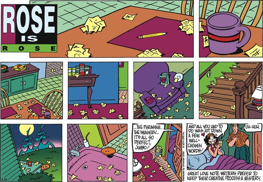Rose is Rose for Jul 13, 2014 Comic Strip