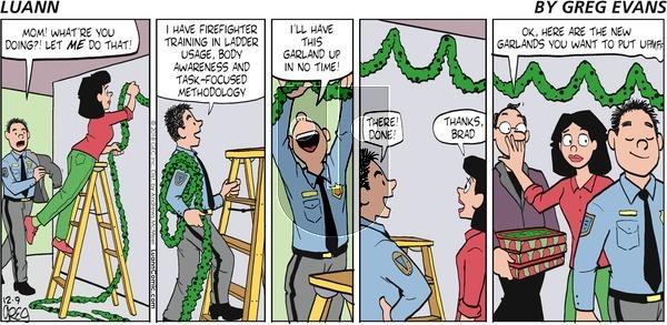 Luann on Sunday December 9, 2018 Comic Strip