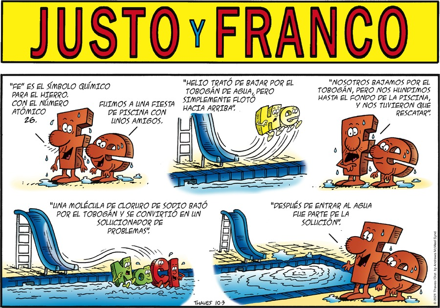 Justo y Franco by Thaves on Sun, 03 Oct 2021