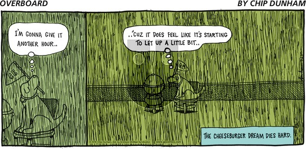 Overboard on Sunday July 29, 2018 Comic Strip