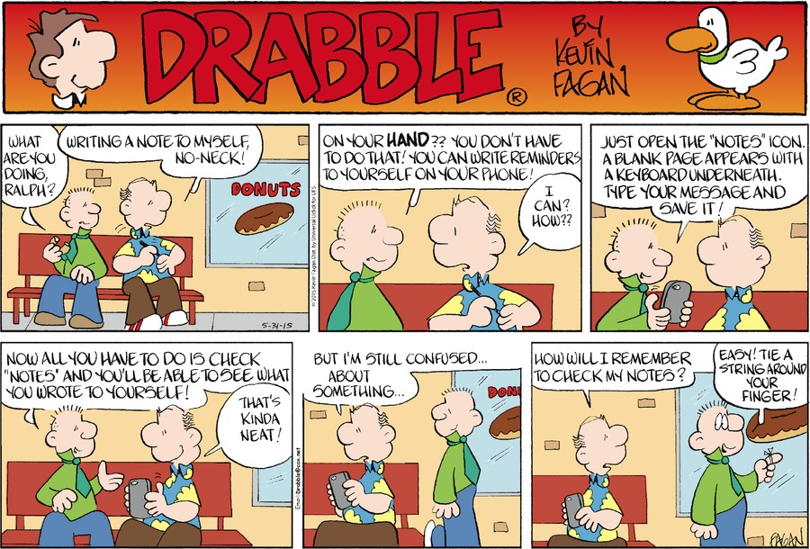 Drabble Comic Strip for May 31, 2015