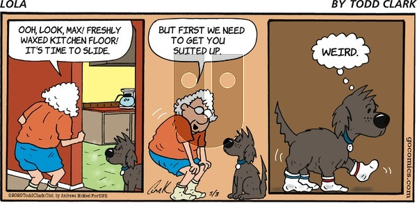 Lola on Sunday May 3, 2020 Comic Strip
