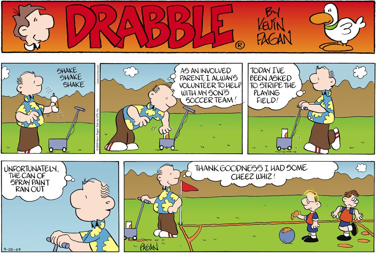 Drabble for Sep 20, 2009 Comic Strip