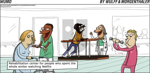 WuMo on Sunday March 24, 2019 Comic Strip