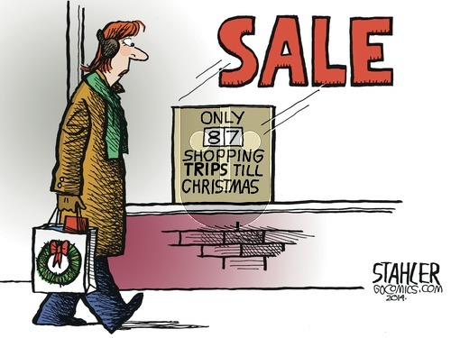 Jeff Stahler on Sunday November 9, 2014 Comic Strip