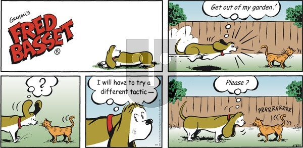Fred Basset on Sunday April 25, 2021 Comic Strip