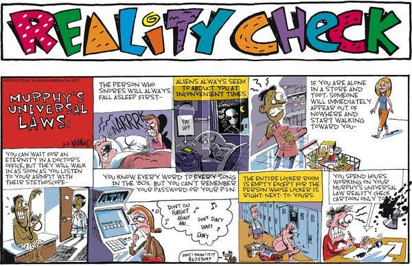 Reality Check on Sunday March 3, 2019 Comic Strip