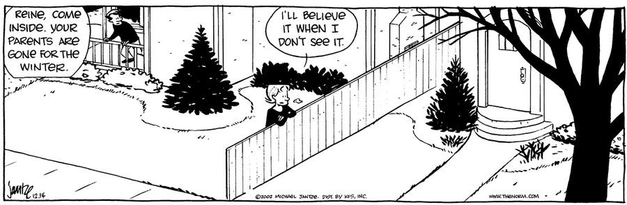 The Norm Classics for Dec 16, 2017 Comic Strip