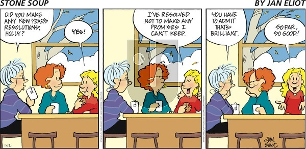 Stone Soup on Sunday January 12, 2020 Comic Strip