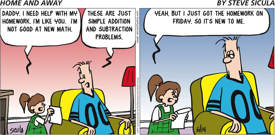 Home and Away Comic Strip for June 14, 2015
