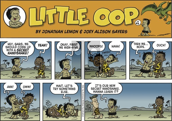 Alley Oop on Sunday August 25, 2019 Comic Strip