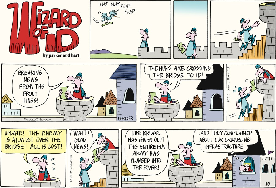 Wizard of Id for Nov 3, 2013 Comic Strip