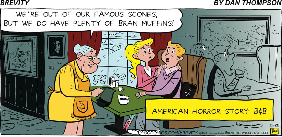 Brevity Comic Strip for November 22, 2015