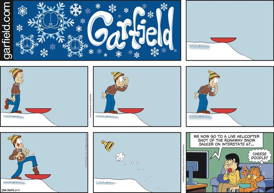 Garfield Comic Strip for February 17, 2019