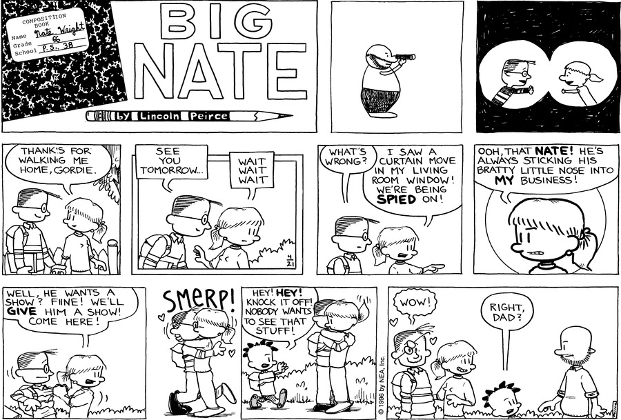 Big Nate: First Class by Lincoln Peirce on Sun, 02 May 2021