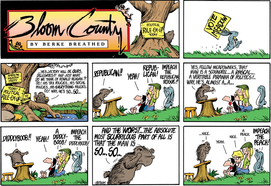 Bloom County by Berkeley Breathed for May 20, 2019