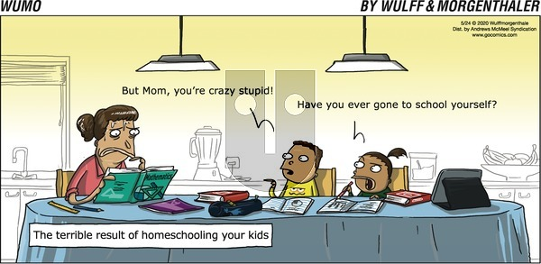 WuMo on Sunday May 24, 2020 Comic Strip